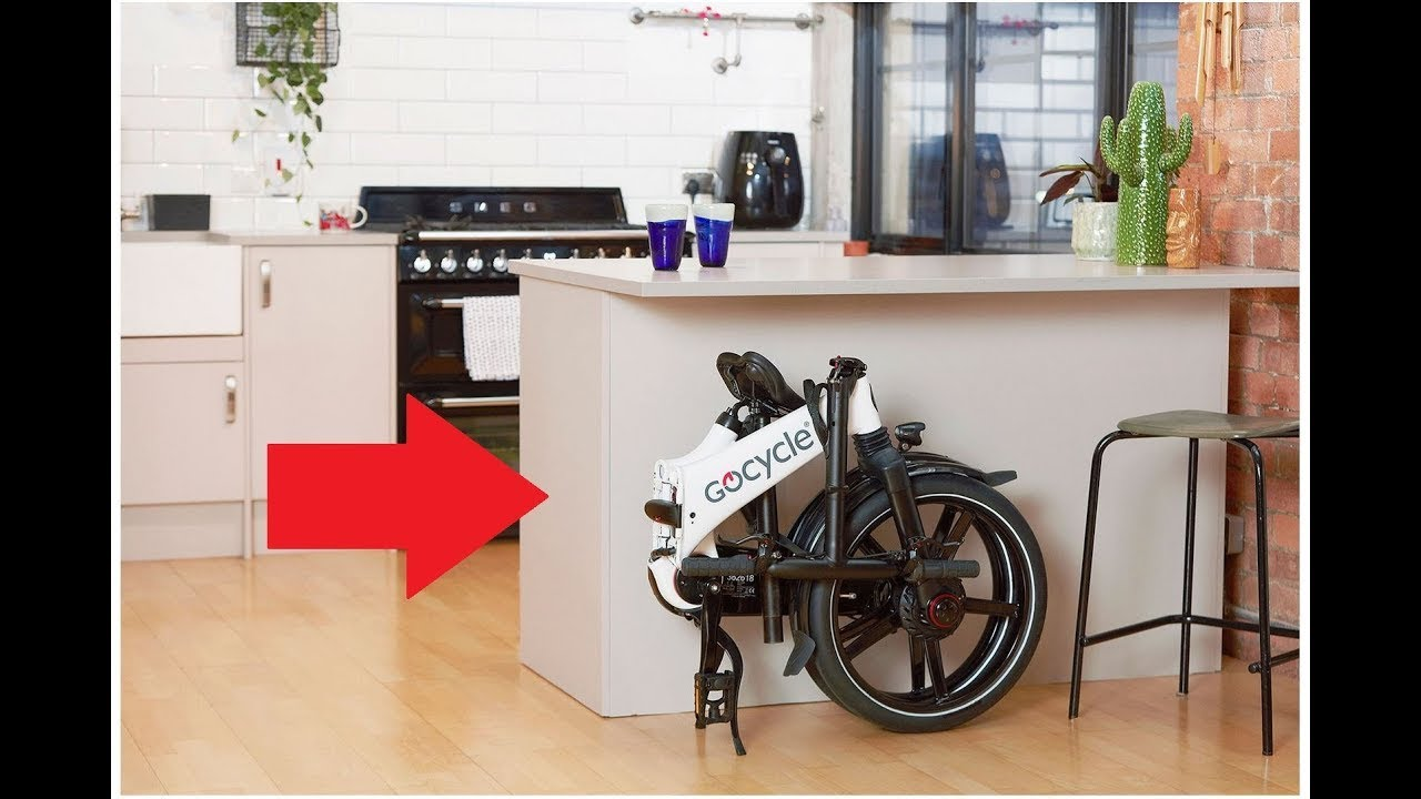 Gocycle's GX fast folding ebike 2