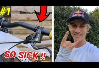 HOW FABIO WIBMER SET UP HIS BRAKES FOR TRIAL AND ENDURO BIKE #1