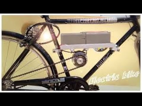 How to Make Electric Bike using 775 motor 30km/h