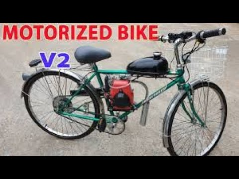 How to Make Electric Bike with 4 Motors 775 - 80 km/h