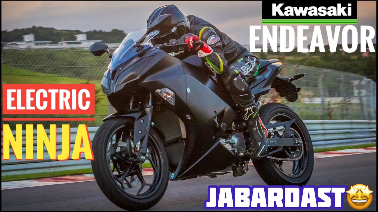 Kawasaki ENDEAVOR⚡️ Electric Bike🤩 Excited? India Launch?