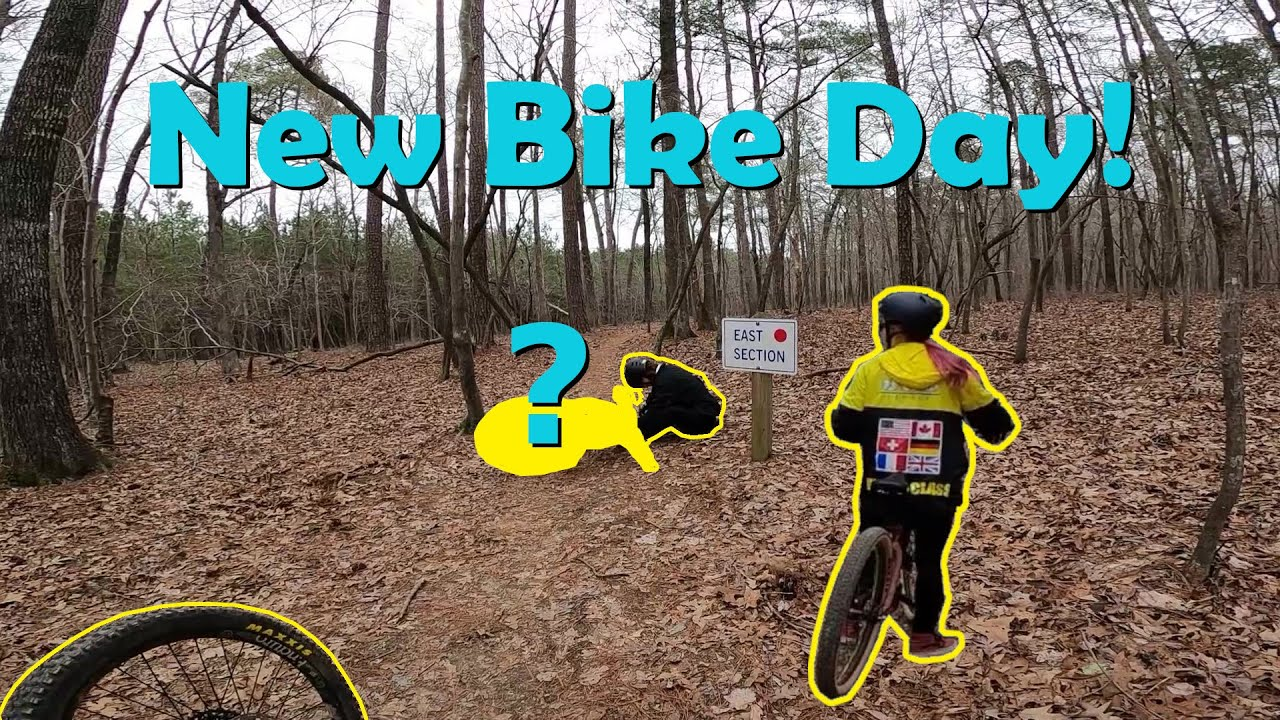 MTB Plan B - New bike day! new riders, plenty of crashes!