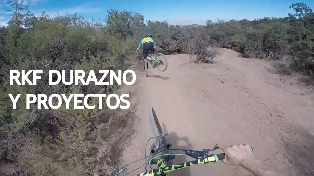 Mountain Bike en el Bike Park El Durazno!