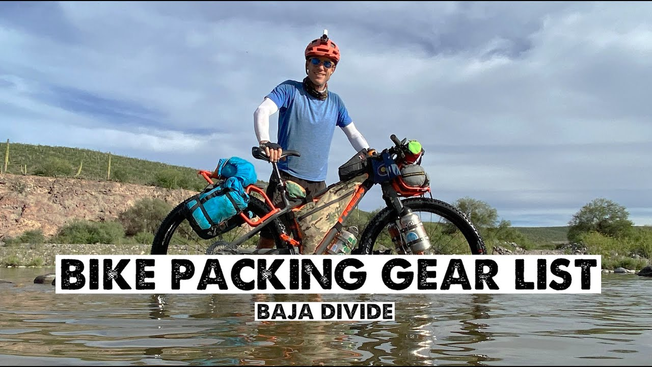 My Essential Gear List for BikePacking the BajaDivide
