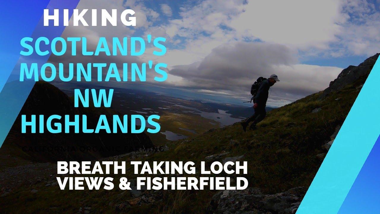 Scotland's Mountains.Beinn Airigh Charr,Loch Maree Torridon,Fisherfield.