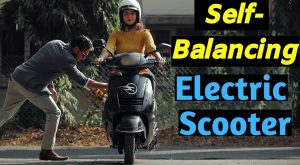 Self balancing electric bike (Porto type)