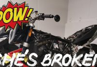 THE DUKE IS HAVING ISSUES - KTM Superduke Motovlog Japan