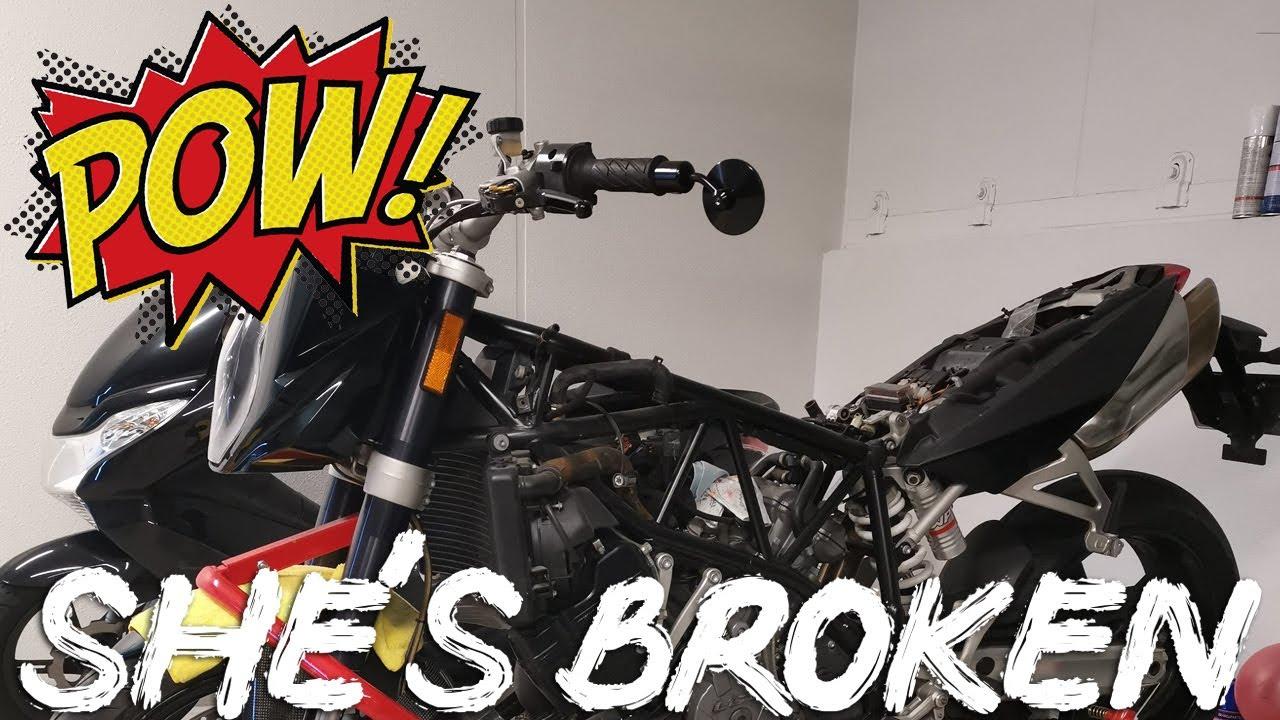 THE DUKE IS HAVING ISSUES - KTM Superduke Motovlog Japan
