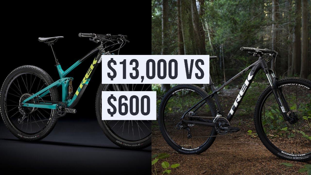 Trek Top Fuel 9.9 AXS VS Trek Marlin 5 / Comparison between two great bikes