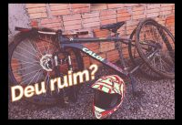 Trilha de bike Sombrio(Deu ruim)