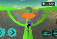 cycle running games roud bike vs mountain bike speed #0933