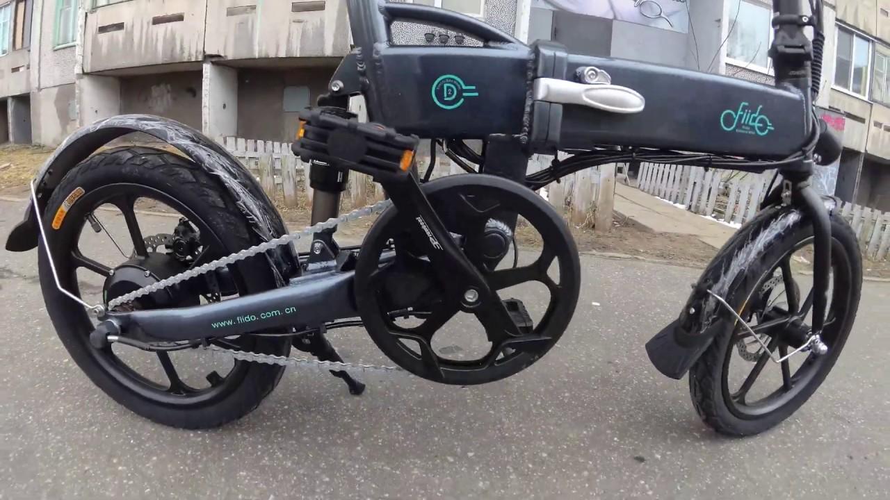 Электровелосипед  , Electric bike Fiido d1/2