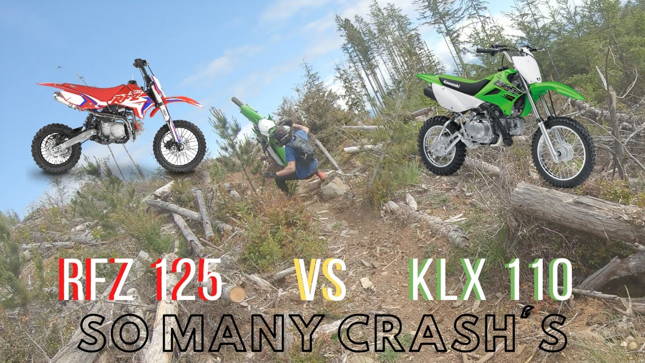 2020 Apollo RFZ 125cc vs 2020 Kawasaki KLX 110cc