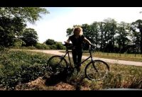 30 km Bio-Bike Retro-Tour mit Oldschool Mountainbike / Angy hat Löwenpower / Fahrrad Tour Bielefeld