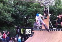 BMX Profi auf der DC Miniramp Donauinselfest 27.06.2011
