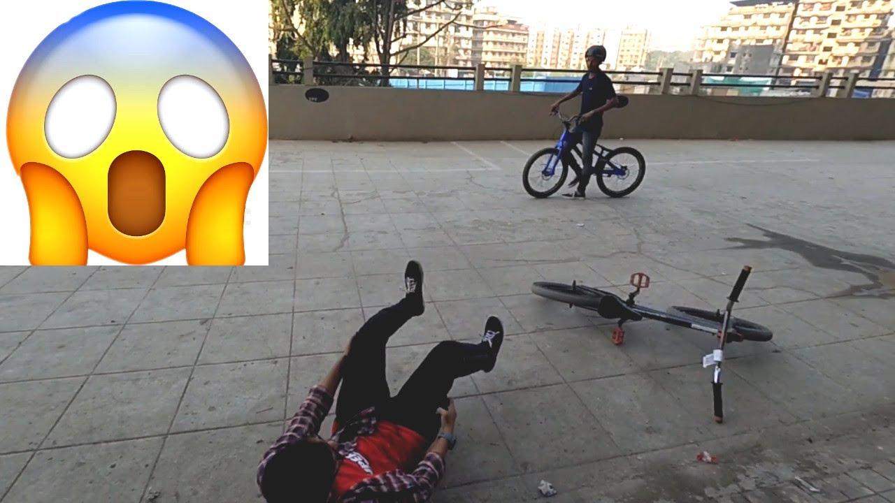 BMX x Street-Trials Fails & Crashes 2018 Session