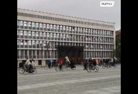 Bike-Demo in Slovenien - Ljubljana