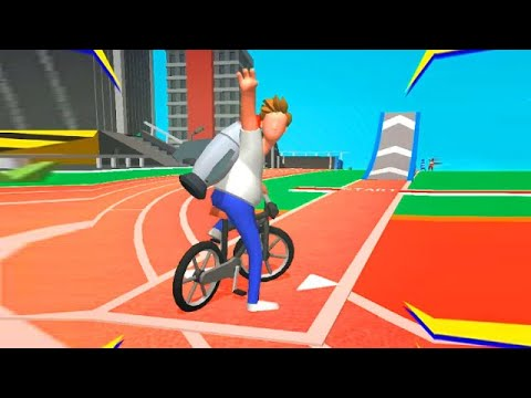 Bike Hop: Be a Crazy BMX Rider! Gameplay Walkthrough