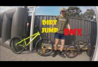 Bmx vs Dirt Jumper | Comparison | Thoughts