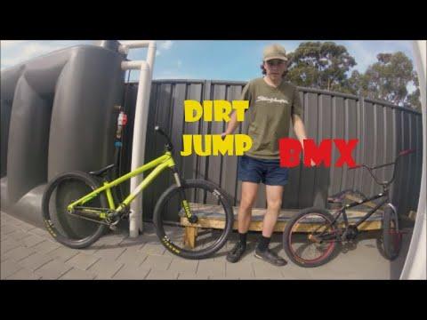Bmx vs Dirt Jumper | Comparison | Thoughts