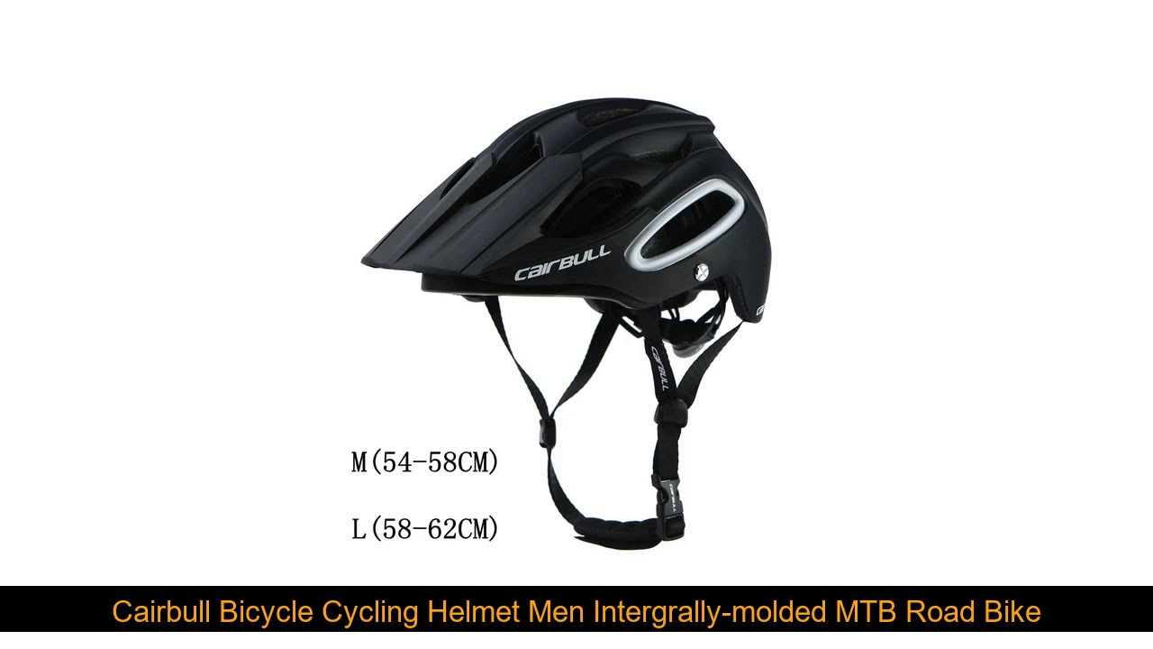Cairbull Bicycle Cycling Helmet Men Intergrally-molded MTB Road Bike Helmet ALLTRACK BMX Ultraligh