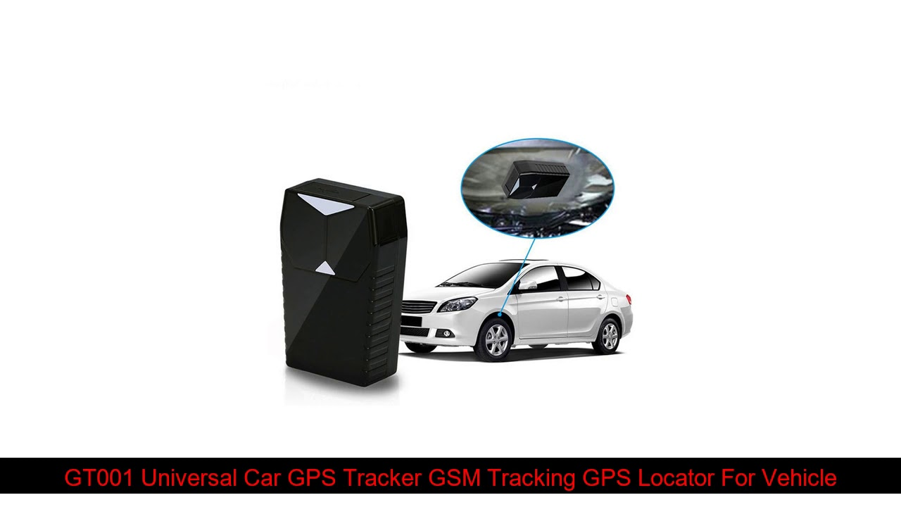 GT001 Universal Car GPS Tracker GSM Tracking GPS Locator For Vehicle / Motorcycle Electric Bike Fr