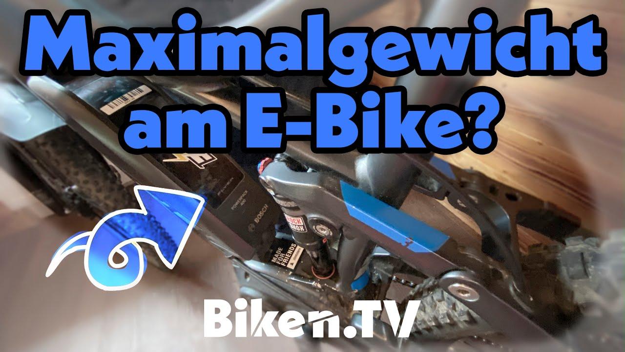 Gewichtsbeschränkung am E-Bike/Mountainbike? BikenTV