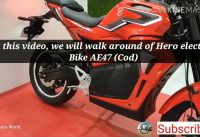 Hero Electric Bike AE-47 in Auto Expo 2020. Moi Tv