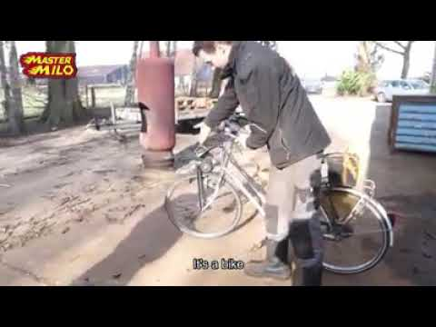 How To Bicycle with Starter Motor Drive!