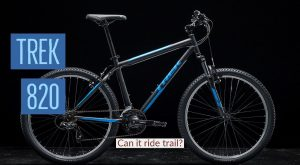Is the Trek 820 a Good Mountain bike?? What's the difference with the MARLIN 5!!??!?