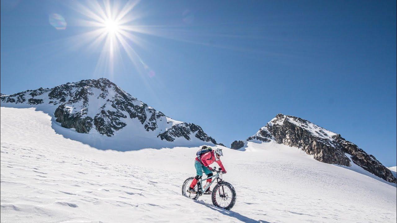 LOST PLACE STUBAIER GLETSCHER / Der 1. Bike 3000er im Jahr 2020 mit dem FATBIKE / Corona Nachwirkung
