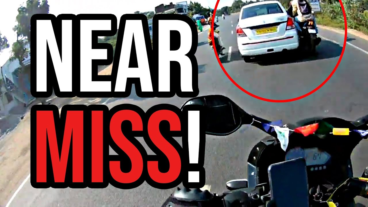 Nearly Got Dropped Of The Bike | Crazy People & Bad Drivers VS Bikers. EP [128]