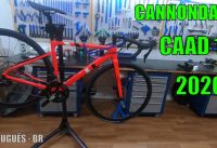 REVIEW CANNONDALE CAAD 13 DISC 105 2020 - CANAL DIAS