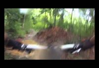 Rain ride at Ketam Mountain Bike Trail , Singapore