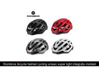 Rockbros bicycle helmet cycling unisex super light integrally-molded inside electric bike MTB moun