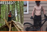 Stressed? Watch an Idiot with a Mountain Bike and a Camera for 1:45
