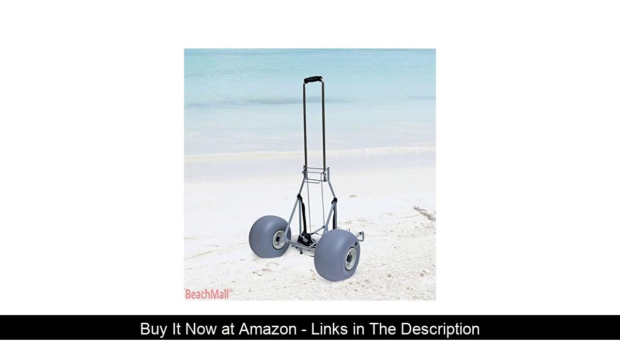 ▶️ Wheeleez Folding Beach Cart