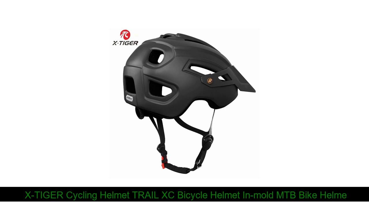 X-TIGER Cycling Helmet TRAIL XC Bicycle Helmet In-mold MTB Bike Helmet Road Mountain Bicycle Helme