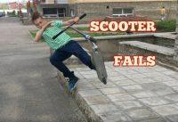 Самые жёсткие падения на самокате | scooter fails 2020