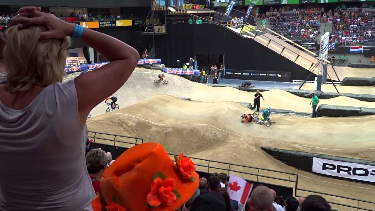 2014 07 24 WK BMX Rtd challenge 12 16 kwart finale race 20 Maureen