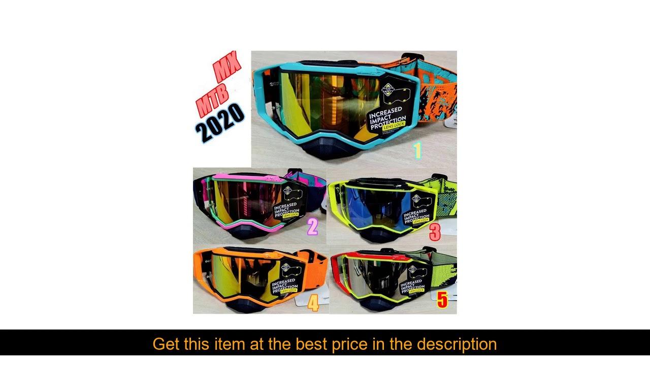 2020 MX Goggles Motocross Glasses Off Road Dirt Bike Motorcycle Helmets Goggles Ski Sport Glasses