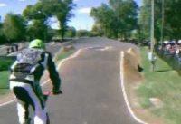 40 and over bmx racing at Rockford track 9/23/12 USA bmx