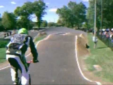 40 and over bmx racing at Rockford track 9/23/12 USA bmx