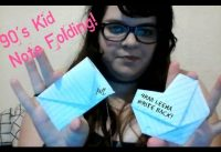 90's Kid Note Folding Tutorial!