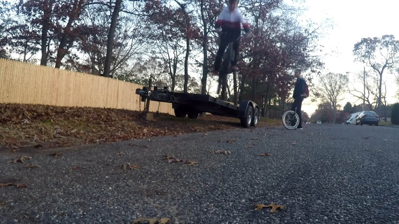 A NORMAL COLD BMX DAY