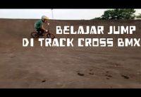 BELAJAR JUMPING DI LINTASAN BMX || JANGAN DI TIRU SEMBARANGAN!!! ||