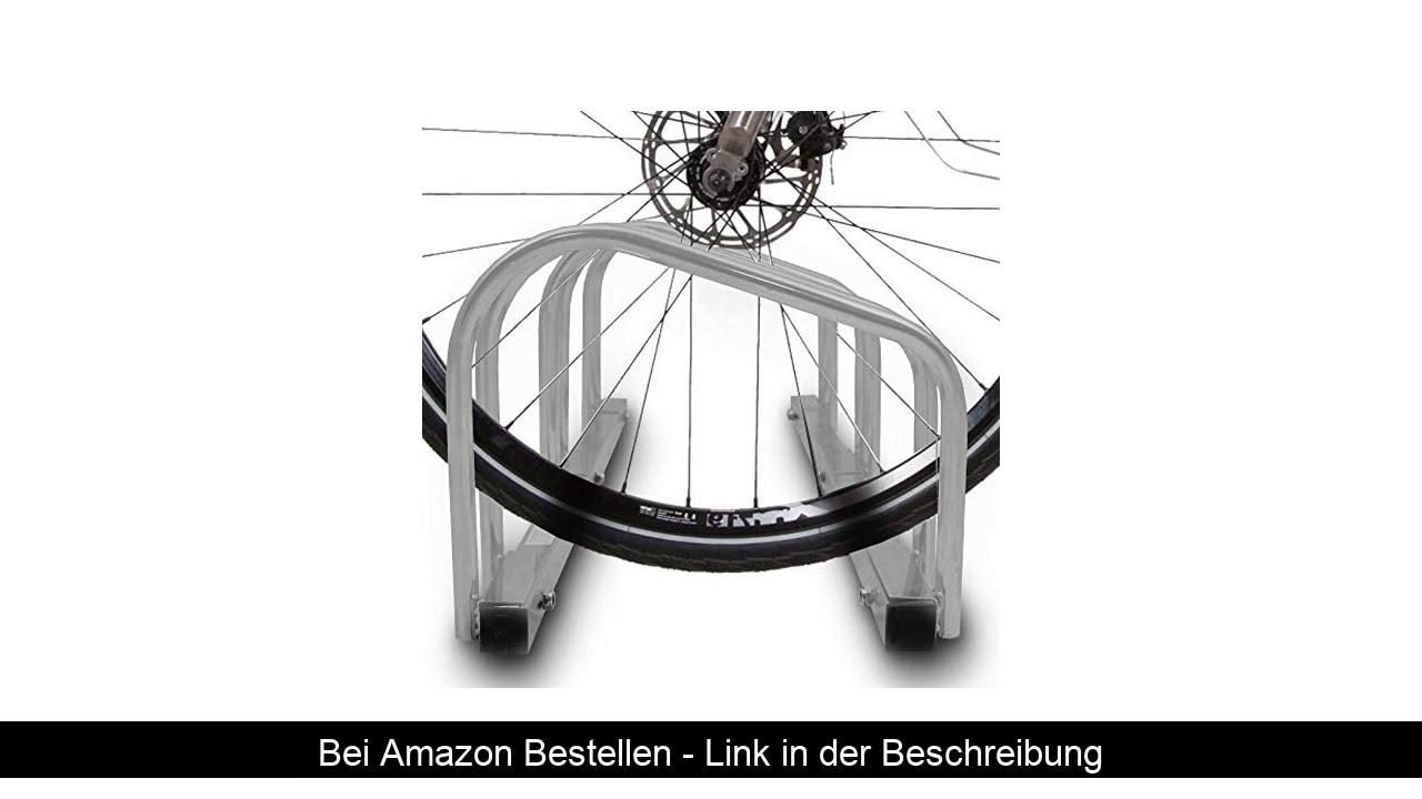 ☑️ BITUXX® Fahrradständer Aufstellständer Radständer Fahrrad Bike Ständer Metall Platzsparend (Für