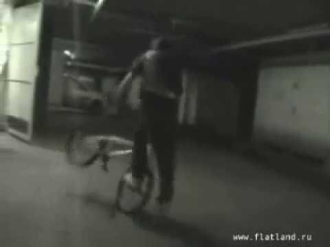 BMX Flatland (underground garage)