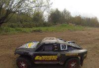 BashiN at the BMX Track - HPI Savage Flux HP Losi Ten-SCTE Traxxas Slash