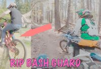 Big Mountain Bike Trials and High Speed Mountain Dirtbike Trail Riding (Vlog 4)